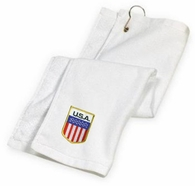 USA Golf Towel