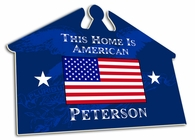 USA House Sign
