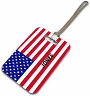 USA Luggage Tag