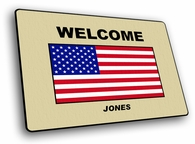 USA Welcome Mat