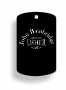 Usher Dog Tags