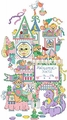 Cross Stitch Pattern Sleepy Time Castle Birth Record From Kooler Design Studio