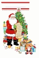Cross Stitch PDF Pattern He's Making a List Stocking From Kooler Design Studio