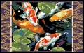 Cross Stitch PDF Pattern Koi Fish From Kooler Design Studio