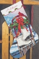 Needlepoint Kit Ice Skates Stocking From Dimensions