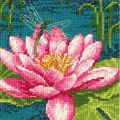 Needlepoint Kit mini  Dragonlily From Dimensions