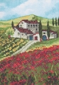 Stamped Cross Stitch Kit Mini Poppy Fields From Dimensions