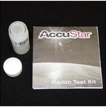 AccuStar Charcoal LS (Liquid Scintillation) CLS 100i Short Term Radon Gas Test Kit / 48-96 Hour Testing