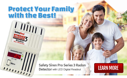 Radon Testing - Easy Do-It-Yourself