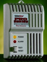 Safety Siren HS80501 Pro Series Combustible Gas Detector: Natural Gas (Methane) & Propane