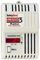 Safety Siren Pro Series 3 Radon Detector