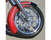 "18""x""6 ROUND TOP STEEL FENDER, NOT PRE-DRILLED (SPECIAL PAINT)"