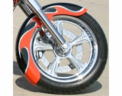 "18"" x 6"" STEEL ""WRAP"" FRONT FENDER (STANDARD PAINT)"
