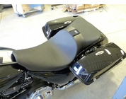 2-up Touring Seat with Backrest Slot