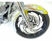 "21'' x 5.5"" ROUND STEEL FRONT FENDER (SPECIAL PAINT)"