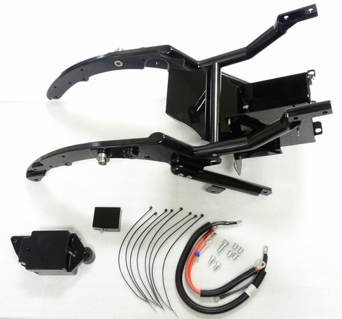 "FBI 3"" DROP SEAT FRAME KIT FOR '09-13' TOURING MODELS"