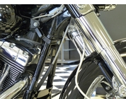 Frame -Mounted tie Down for Harley Baggers