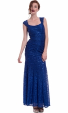 Lace Mermaid Mother Of The Bride Dress