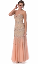 Mermaid Celebrity Awards Prom Dress Red Carpet