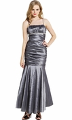 Mermaid Taffeta Long Prom Dress