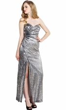 Sequin Red Carpet Long Gown Prom Dress