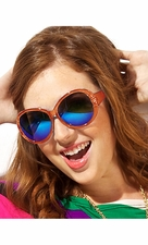 Translucent Solid Color Sunglasses