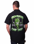 Speed N Splinters Tiki Workshirt