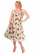NEW! Tiki Dreamer Island 50's Dress