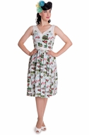 NEW! Tropical Souvenir 50s Tiki Dress by: Hell Bunny