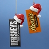 Hershey's, Reese's, M&M's, and Other Candy Ornaments