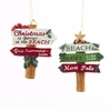 Item # 100184 - Beach Sign Ornament