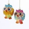 Item # 100293 - Rainbow Owl Ornament