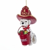 Item # 100324 - Dog With Fire Hat & Bucket Ornament