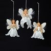 Item # 100343 - White/Silver Little Angel Ornament