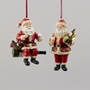 Item # 100380 - Wine Santa Ornament