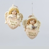Item # 100409 - Angel With Heart Ornament