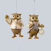 Item # 100438 - Dressed Owl Ornament