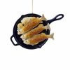 Item # 100473 - Fish Frying In Pan Christmas Ornament