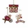 Item # 100529 - Farm Pig Ornament