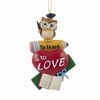 Item # 100532 - Owl Teacher Ornament