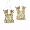 Item # 100540 - Inspirational Double Angel Ornament