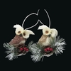 Item # 100613 - Owl With Pinecone Ornament