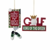 Item # 100651 - Golf Christmas Ornament