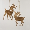 Item # 100654 - Brown Reindeer Ornament