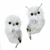 Item # 100693 - Silver Owl Ornament