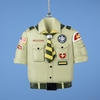 Item # 100703 - Tan Boy Scout Shirt Ornament