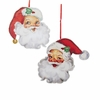 Item # 100767 - Cutout Santa Head Ornament