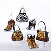 Item # 100815 - Wild Animal Print Purse/High Heel Shoe Christmas Ornament
