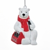 Item # 100838 - Coca-Cola Polar Bear With 6-Pack Ornament