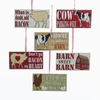 Item # 100856 - Farm Sayings Ornament